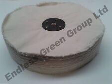 "Loose Leaf Cotton Buffing Wheel - Polishing mop  8"" x 1.5""  200 x 40mm  L200/120"