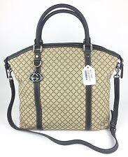 Authentic New Gucci Large Diamante Denim GG Charm Tote/Crossbody #339551, NWT