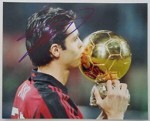 Ricardo Kaka Signed 8x10 Photo Real Madrid Brazil Soccer Football RAD