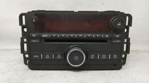 2007-2008 Gmc Acadia Am Fm Cd Player Radio Receiver 92635