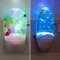 Plug In Colour Changing LED Night Light | Sensor Children Bedroom Safety Nursery