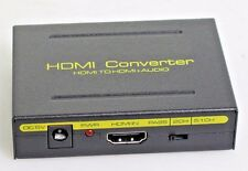 1080P HDMI TO HDMI Audio Extractor Converter Splitter Optical SPDIF + RCA L/R