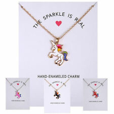 Fashion Women Necklace Creative Unicorn Pendants Charm Sweater Silver Chain Gift