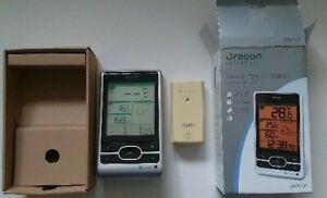 Oregon Scientific Weather Station, Sensor and Box (BAR206). Excellent