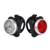 LED USB Wiederaufladbar Fahrrad Rücklicht Blinker Silikon Rücklicht Fahrradlicht