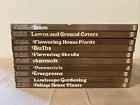 Vintage Time-Life Encyclopedia Of Gardening With Index - 10 Hardcover Set Lot