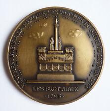 Médaille en BRONZE bicentenaire du Siège de LYON 1793-1993 Les Brotteaux
