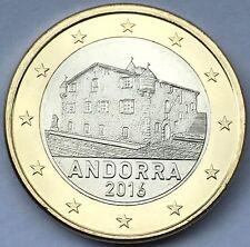 1 Euro Kursmünze Andorra 2016 BU aus dem KMS