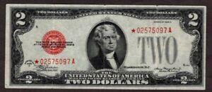 1928D $2 Legal tender Note, STAR, XF, NICE!!