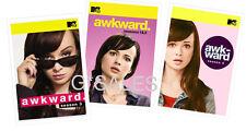 Awkward Ashley Rickards MTV TV Series Complete Season 1-4 (1 2 3 4) NEW DVD SET