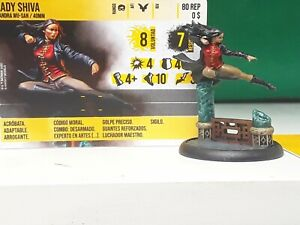 Lady Shiva Batman Miniatures Game Knight Models-well painted mini (b)