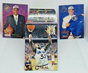 2 Sets! - 1994-95 Topps Stadium Club Basketball - Series 1 Sets - Shaq Kidd Hill