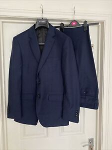 Men's Navy 2 piece Suit  Blazer /Trousers SZ EUR 50 UK 40
