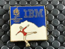 pins pin OLYMPIC JO ALBERTVILLE 92 OLYMPIQUE IBM PATINAGE ARTISTIQUE
