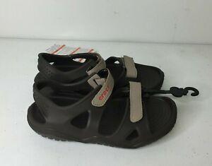 Crocs Swiftwater Mesh Wave Sandals  Unisex-Child Kids' Size 12