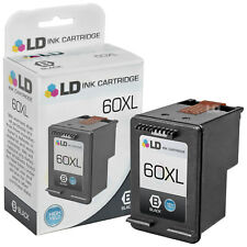 LD Remanufactured Replacement for HP 60XL CC641WN High Yield Black Ink Cartridge