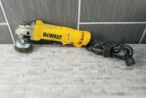 "DeWalt DWE402 Corded 4-1/2"" Angle Grinder w/ Milwaukee 48-52-5060 Attachment"