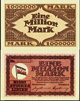 Germany 1923 - 1,000,000 Mark (1 Million), Banknote UNC