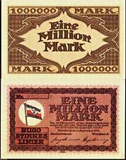Germany 1923 - 1,000,000 Mark (1 Million), Banknote UNC