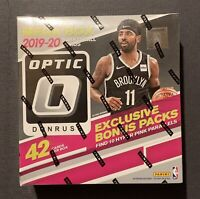 2019-20 Panini Donruss Optic NBA Basketball Factory Sealed Mega Box - Hyper Pink