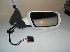 2002 Audi A4 Passenger Door Mirror Right Side  OEM White