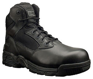 "Magnum Mens Stealth 5312 6"" Side Zip Composite Toe Tactical Combat Police Boots"