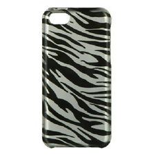 For Apple iPhone 5C HARD Protector Case Snap On Case Phone Cover Silver Zebra