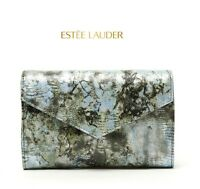 Estee Lauder Snake Python Print Makeup bag cosmetics bag pouch clutch