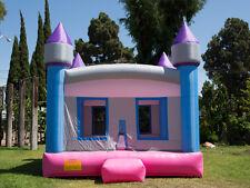 NEW Commercial Grade  Princess Castle Inflatable Jumper Bounce House 100% PVC