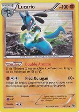 Lucario holo -N&B:Tempête Plasma-78/135-Carte Pokemon Neuve Française