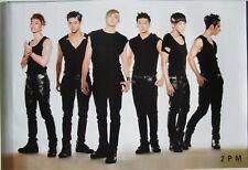 "2 PM ""STANDING IN BLACK SHIRTS"" ASIAN POSTER - Korean Boy Band, K-Pop, 2 P.M."