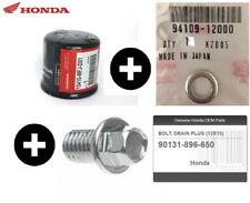 Honda Genuine Motorcycle Oil Filter Cbr600rr 1992 - 2014 With Drain Washer 600rr