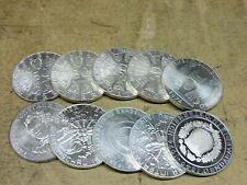 Anlegerposten , 10 x 50 Schilling Silber , 200g Silber , Investorenpaket