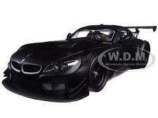 2012 BMW Z4 GT3 STREET VERSION MATT BLACK LTD ED 504PC 1/18 MINICHAMPS 151122304