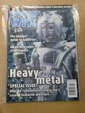 DOCTOR WHO #297 2000 NOV 17 BRITISH WEEKLY MONTHLY MAGAZINE DR WHO CYBERMEN