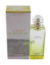 Hermes Le Jardin de Monsieur LI  3.3/3.4oz EDT Spray NEW In Box For Women