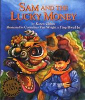 SAM AND THE LUCKY MONEY by Karen Chinn FREE SHIPPING paperback Children's book