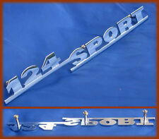 FIAT 124 SPORT SPIDER - SCRITTA LOGO BADGE SCRIPT