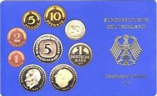 West Germany Full D-Mark Coin Proof Set 1978 J  (1975 1976 1977 1988 1989)