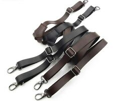 Leather Hook Buckle Suspenders Innovative Men Pliers Women Braces Gun And Strap
