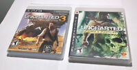 Uncharted 3 & Uncharted Drake's Fortune PlayStation 3 Game PS3 Hard_8s_Magic
