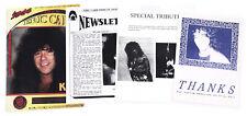 KISS Eric Carr 1991 – 1995 Lot of Four Rare Tribute Fan Magazines