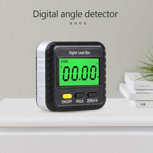 Digitaler LCD Winkelmesser Neigungsmesser Inklinometer Wasserdicht Bevel Box