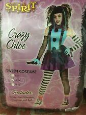 Halloween Costume Spirit Crazy Chloe Punk Clown NEW Tween Size 12-14