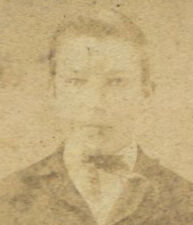 YOUNG MAN HOLDING HAT. CDV BY HICKINBOTHAM. ALLEGHENY, PA.