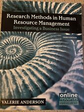 Research Methods in Human Resource Management CIPD Level 7 IBI Valerie Anderson