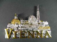 Magnet Wien Stephansdom,Karlskirche,Poly Souvenir Österreich Austria,NEU