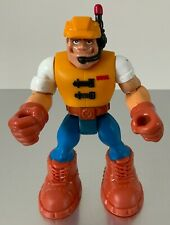 * Rescue Heroes * Construction Specialist * Jack Hammer * Fisher Price 1997 *