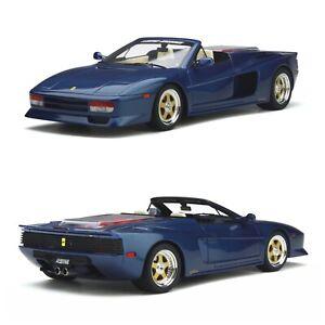 1/18 GT Spirit Koenig-Specials Spider Blu Sera 1985 Neuf Livraison Domicile