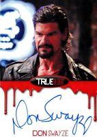 True Blood Premiere Edition Don Swayze Autograph Card
